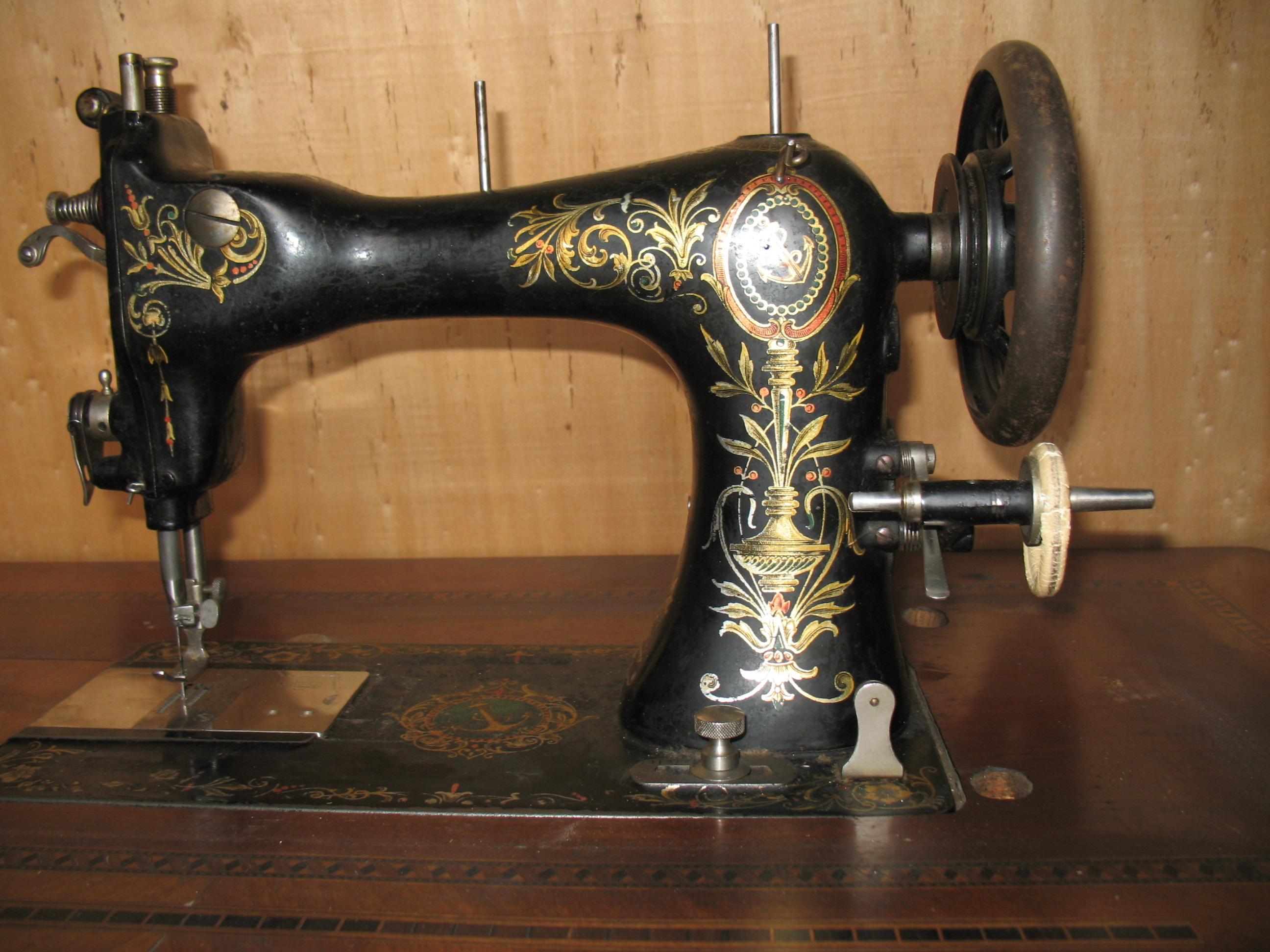 Vieille Machine A Coudre
